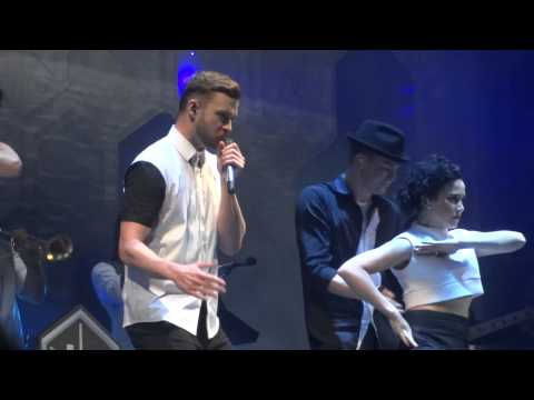 "Justin Timberlake –  ""Holy Grail"" and ""Cry Me A River"" – Forum 11.24.14"