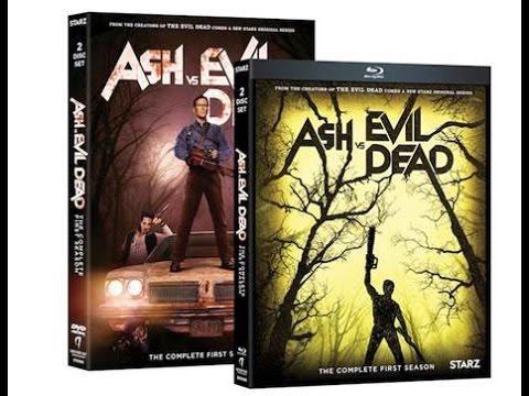 Ash vs Evil Dead on Blu-ray & DVD 8/23