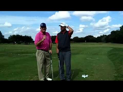 The Golf Swing Set Up- Relaxing is the Key! Vertical Golf Swing