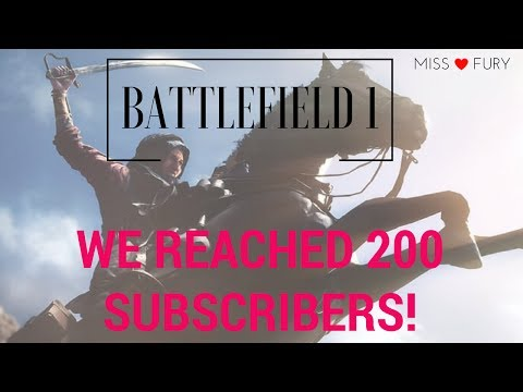 Video Battlefield 1- WE REACHED 200 SUBS! download in MP3, 3GP, MP4, WEBM, AVI, FLV January 2017