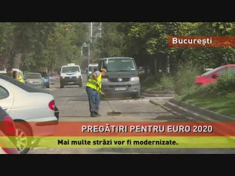 Pregătiri intense în București, pentru Euro 2020