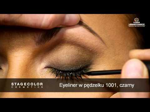 Smoky Eyes Makeup duochromatyczny