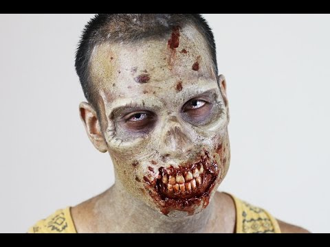 Walking Dead Inspired Zombie Makeup Application