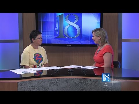 this morning - Pennie Ainsworth discusses Global Fest with News 18 This Morning.
