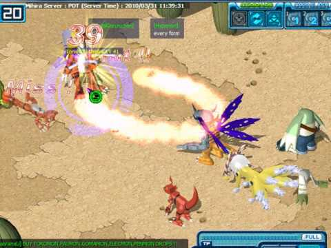 march 31 2010 digimon battle pvp 1 digimon battle online
