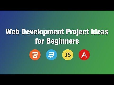 Web Development Project Ideas for Beginners   Building beginner projects in Javascript