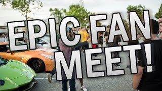 Epic Fan Meet Evan Shanks, TJ Hunt, IgnitionTUBE, StreetSpeed717 & MORE by DoctaM3's Supercars Personified
