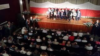 Krytyk PiS na spotkaniu wicepremier Beaty Szydło z mieszkańcami Bochni