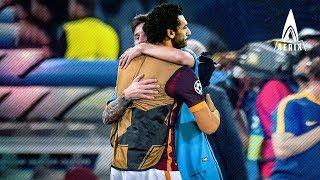 Video When Lionel Messi  and Mohamed Salah met for the first time ● عندما التقى ميسي ومحمد صلاح لأول مرة MP3, 3GP, MP4, WEBM, AVI, FLV Agustus 2018