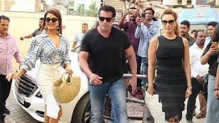 Video Salman Khan अपनी दोनों Gf Jacquiline और Lulia Vantur के साथ एंट्री मारी Race 3 - Allah Duhai लांच पर MP3, 3GP, MP4, WEBM, AVI, FLV Agustus 2018