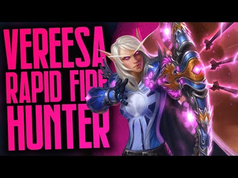 Rapid Fire Vereesa Hunter | Part Two | Rise Of Shadows | Hearthstone