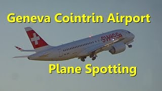 Yeah i definitely have to change my camera and i'm so disappointed about this video ! Sorry for that ! Here is a short compilation of planes moving at Geneva airport, shot while i was waiting for the boarding of my Etihad flight to Abu Dhabi. The airport isn't spotter friendly, i just found a dirty window with a lot of light reflection. I caught some Swiss traffic and their brand new CS100 & CS300.© DoubleH63 - GVA 18/6/17