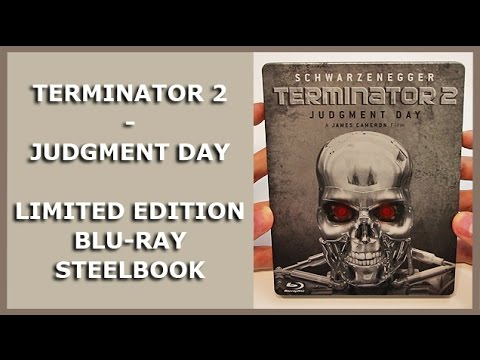TERMINATOR 2 - JUDGMENT DAY - LIMITED BLU-RAY STEELBOOK UNBOXING