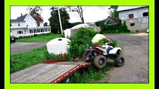 7. Sketchy ATV Unload   2016 Polaris Scrambler 850 H.O