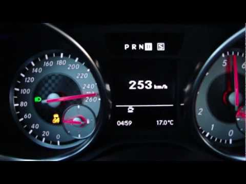 new mercedes-benz slk 250 - acceleration 0-254 km/h