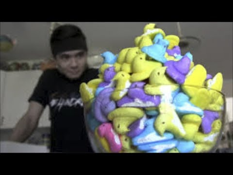 WHAT?! Man Eats 200 Peeps in One Sitting