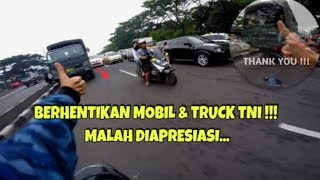 Video MEMBERHENTIKAN TRUCK TNI DAN MOBIL POLISI AUTO DI APRESIASI | ESCORTING AN AMBULANCE #15 MP3, 3GP, MP4, WEBM, AVI, FLV Juni 2019