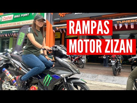 PEREMPUAN PERTAMA NAIK MOTOR YSUKU ZIZAN RAZAK!