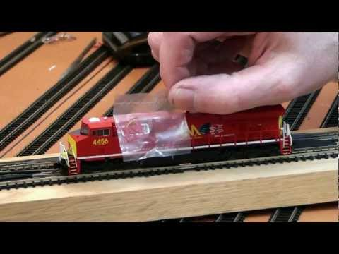 ES44AC - Fox Valley Models: GE ES44AC GEVO in N scale NASHVILLE & EASTERN video blog by TNShortlineFan The Evolution Series is a line of diesel locomotives built by G...