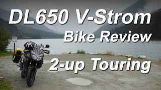 10. DL650 V-Strom Review 2-up
