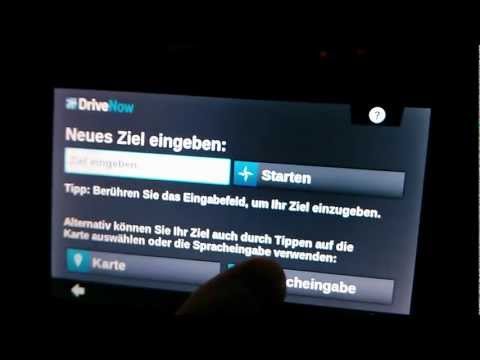 Lustiger Fail bei Drive Now Spracherkennung