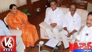 T Minister Harish Rao Meets Union Minister Uma Bharti - Teenmaar News