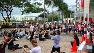 Flashmob Cầu Hôn Trước Chú Vịt Khổng Lồ