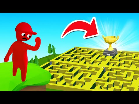 New IMPOSSIBLE MAZE In Human Fall Flat!