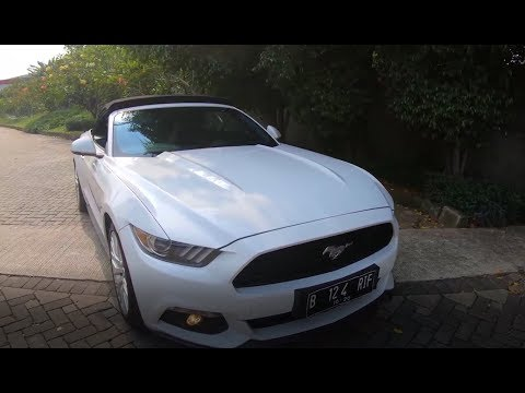 Mustang Ecoboost cabriolet 2017 Review and Test Drive | Wills AutoGarage