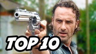 Walking Dead Season 6 Episode 10 - TOP 10 WTF and Easter Eggs