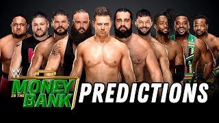 Video WWE MONEY IN THE BANK 2018 PREDICTIONS (Going In Raw Pro Wrestling Podcast) MP3, 3GP, MP4, WEBM, AVI, FLV Juni 2018