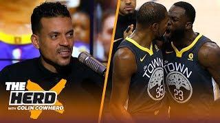 Video Matt Barnes on KD-Draymond confrontation, talks Kobe Bryant not flinching | NBA | THE HERD MP3, 3GP, MP4, WEBM, AVI, FLV Desember 2018
