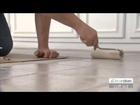 comment appliquer peinture sol