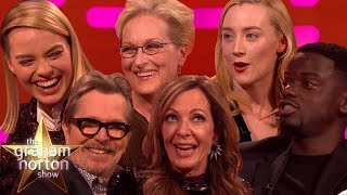 Video OSCARS 2018 NOMINEES on The Graham Norton Show MP3, 3GP, MP4, WEBM, AVI, FLV Oktober 2018