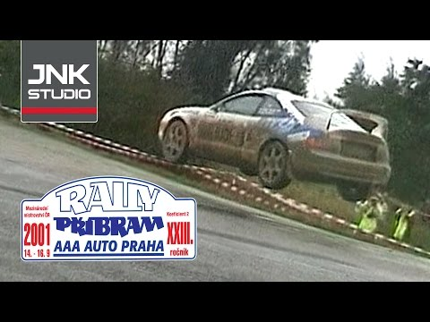 XXIII. AAA AUTO Praha Rally Příbram 2001