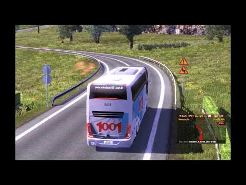 Euro Truck Simulator 2 - TSM 4.0 With Bus 1001 - 1080p