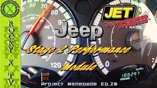 Patreon - https://www.patreon.com/rockyxtvFacebook - https://www.facebook.com/rockyxtv/---COUPON CODE--- ROCKY10 will get you 10% off everything except for carburetors.  In this episode I show you how to install the JET Performance stage 2 performance module for the Jeep Liberty KJ.JET Stage 2 Performance Module - http://jetchip.com/shop/chips-modules-programmers/dodgejeep-module-stage-2-19/Project Renegade - 2005 Jeep Liberty RenegadeCamera - Sony FDR-AX33 4K HandyCamCamera - Anart Action Cam 140 degreeCamera - Anart Action Cam 170 degreeMicrophone - Saramonic SR-WM4C Wireless Microphone SystemMixer - Saramonic SR-AX100 Audio MixerTripod - Ravelli AVTP Pro Video Tripod with Fluid Drag HeadLighting - LimoStudioEditing - Adobe Premiere Pro---Mailing Address---Rocky X TVP.O. Box 1437Grove City, OH 43123-1437