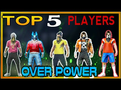 TOP 5 BEST PlAYERS OF OVERPOWER GUILD