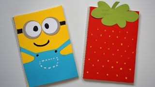 Thanks so much for watching and I hope you enjoyed!How to make Easy & Funny Minions & Strawberry notebook covers at home? --- See now!If you like this video, please like & Share ithttp://www.youtube.com/c/TeenLifesBeautifulTHANK YOU SO MUCH!