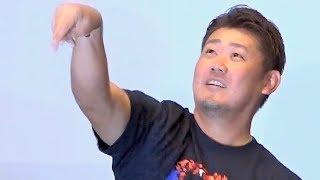 松坂大輔/映画『ジュラシック・ワールド/炎の王国』BD&DVDリリース記念イベント