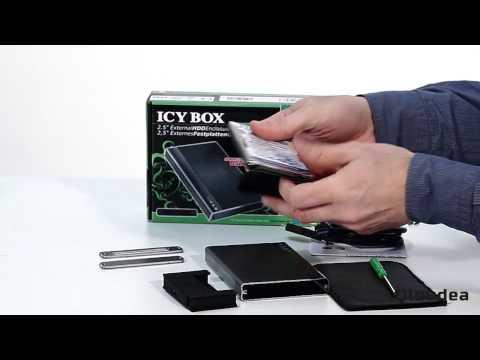 """IB-230StU3-G Caja externa 2.5"""" Anti-vibraciones - USB3.0"""