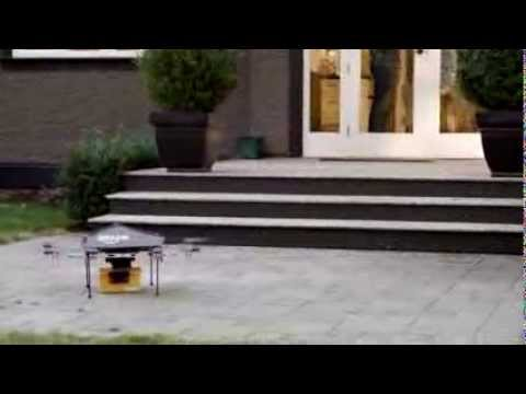 Amazon goes viral with new flying robot delivery service! video