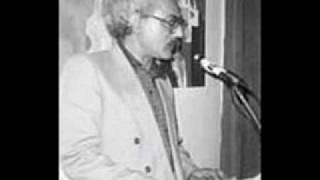 بیژن نجدی شعر خوانی با صدای شاعر لا هیجان 1371