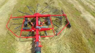 "6. Create Fluffy Windrows with ProRotorâ""¢ Rakes from New Holland"