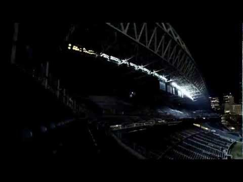 0 Pretty Amazing Video Featuring CenturyLink Field Light Show
