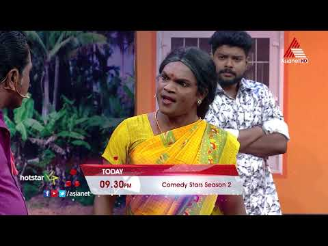 Comedy Stars Season 2 || Today 9:30 PM || Asianet