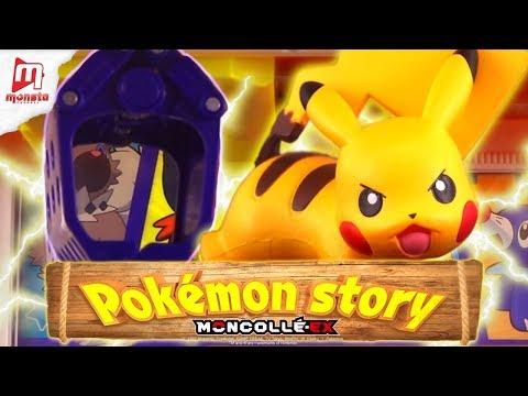 """Pokémon Moncollé Story """"Pikachu's escaping from crane game!"""" - Thời lượng: 2 phút, 33 giây."""