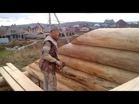 Срубы Дома Бани Беседки Дерево Натуральное бревно 2012