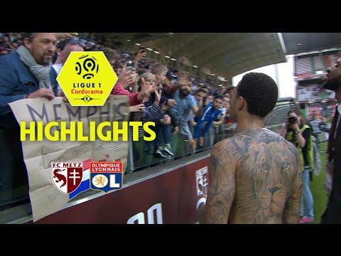 FC Metz - Olympique Lyonnais ( 0-5 ) - Highlights - (FCM - OL) / 2017-18