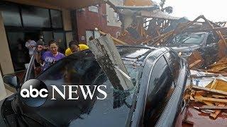 Video Hurricane Michael rips roofs off buildings as it strikes Florida MP3, 3GP, MP4, WEBM, AVI, FLV Oktober 2018